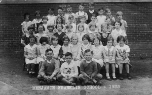 First Grade 1933 Council Bluffs Iowa